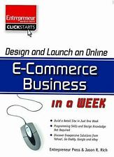NEW - Design and Launch an E-Commerce Business in a Week (ClickStart Series)