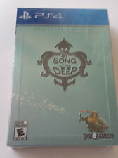 [SEALED, NEW] Song of the Deep Collector's Edition for PS4 (PlayStation 4)