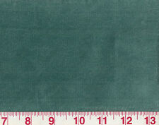 Awesome Velvet Drapery Upholstery Fabric P Kaufmann Poly Cotton Obsession Teal