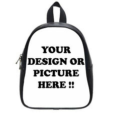 Personalized Custom Your Logo Design Photo Text School Bag (Small) free shipping