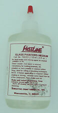 Fusing Powder Binder Burns Off Cleanly GLASS PAINTERS MEDIUM HotLine 4oz Supply