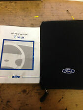 FORD FOCUS MK1 OWNERS GUIDE MANUAL BOOK FOLDER 1998-2004 *FREE POST*