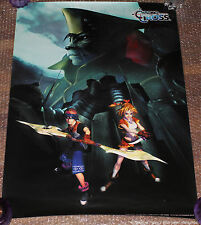 ULTRA RARE Chrono Cross Playstation Promo Poster Trigger Squaresoft PS1 PSX RPG