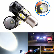 2x No Error Super White LED Backup #D Reverse Light Bulbs BA15S 1156 7506 P21W