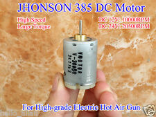 JOHNSON RS-385 DC Motor DC12V-24V 20500RPM High Speed Large Torque Small Motor