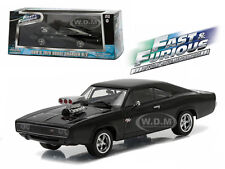 "DOM'S 1970 DODGE CHARGER R/T ""FAST AND FURIOUS-FAST FIVE"" 1/43 GREENLIGHT 86228"