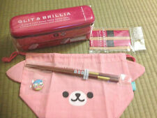 お弁当 BENTO BOX - Kit GLIT & BRILLIA SLIM Rose + sac + baguettes IMPORT JAPON