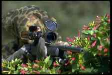 428000 Sniper In Hide Position A4 Photo Print
