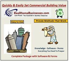 Commercial Building Appraisal Software - MS  Excel