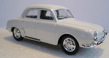 Solido AB011 - Renault Dauphine 4 Door Saloon - White 1/43 Scale New - 1st Post
