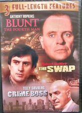 3 Full Length Features (DVD, 2008) Blunt the Fourth Man/ the Swap, Crime Boss