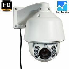 CCTV 720P 1.3M IP X20 PTZ Dome Camera Wiper Audio Auto Tracking Hikvision Module