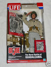 "New LIFE GI Joe Naval Battle of Guadalcanal Collectible 12"" Action Figure Doll"