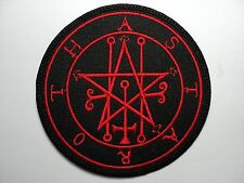 ASTAROTH SIGIL   EMBROIDERED  PATCH