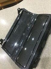 BMW E46 M3 Coupe Saloon de carbono Hydro sumergido Centro Cenicero Cubby interior trim
