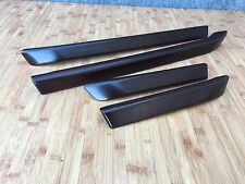 RANGE ROVER HSE L322 OEM FRONT AND REAR DOOR PANEL CARD WOOD BEZEL MOLDING TRIMS