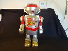 Old Vtg Hello...I Can Talk Toby Walking Talking Robot Toy Made In Hong Kong
