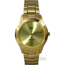 Casio Men's Classic Stainless Steel Gold Tone Dress Analog Watch - MTP-1128N-9A