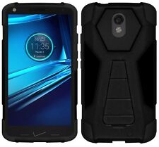 AMZER Hybrid Tough Armor Kickstand Case For Motorola DROID Turbo 2 XT158 X Force