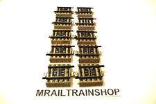 5109 MARKLIN-10x RECHTE RAIL/VOIE DROIT/STRAIGHT TRACK 3,35 cm MÄRKLIN(K15-1301)
