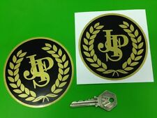 JOHN PLAYER SPECIAL JPS F1 Garland 100mm round stickers
