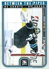 2013-14 ITG Between the Pipes Puzzle-Set alle 11 Goalie-Puzzles NHL (11x9 Teile)