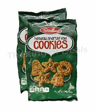 2 Bags -Shortbread Cookies Holiday Shortbread Cookies Stouffer's 12 oz -Exp 6/15