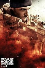MEDAL of HONOR - warfighter  Poster Plakat Bild NEU