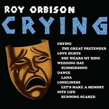 CD ROY ORBISON CRYING GREAT PRETENDER LOVE HURTS WEDDING DAY LANA RUNNING SCARED