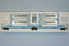 Lionel 36935 Maersk Maxi-Stack - C10/Mint/NIB - Very Hard to Find!