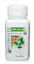 AMWAY NUTRILITE Alfalfa Calcium Plus (25% extra offer pack) = 113 tablets