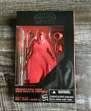 Star Wars Black Series 3.75 Emperor's Royal Guard  Walmart Excl. Brand New
