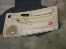mitsubishi 3000gt / dodge stealth pass side door panel 3rd gen tan insert #12