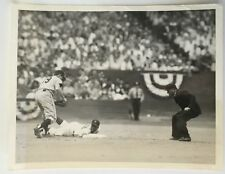 1954 World Series Type 1 Press Photo Giants and Indians Game 3