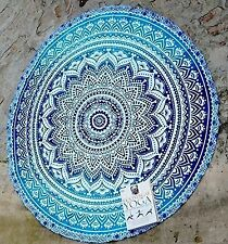 Indian Mandala Beach Throw Towel Round Tapestry Wall Hanging Decor Yoga Boho Mat