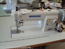 New Heavy Duty WIMSEW  INDUSTRIAL SEWING MACHINE Large Compacity Bobbin
