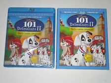 Disney 101 Dalmatians II: Patch's London Adventure(Blu-ray/DVD, 2015) **SEALED**