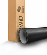 VViViD Brushed Black Aluminum Vinyl car Wrap 1ft x 5ft decal 3mil paint-protect