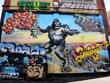 ART PRINT POSTER PHOTO GRAFFITI MURAL STREET ART KING KONG NOFL0241