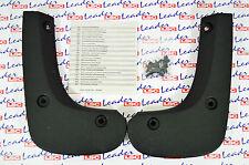 GENUINE Vauxhall ASTRA H - FRONT MUDFLAPS / SPLASH GUARDS KIT - NEW - MUD FLAPS