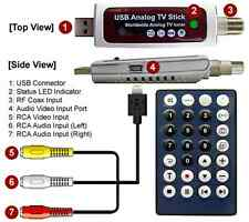USB-Based RF Coax Digital Video Recorder + MEPG Video Frame Grabber Win10 Win8