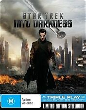 Star Trek Into Darkness - JB Hi-Fi Exclusive Limited SteelBook Blu-Ray Artwork 2
