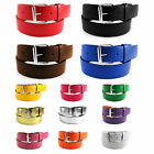 Bonded Leather Belt Multiple Color Golf Baseball Softball New Mens Womens