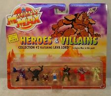 Mighty Max Heroes & Villians Collection #2 Virgil Norman Mummy Goblin Lava Lord