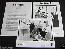 HELMET 'AFTERTASTE' 1997 PRESS KIT—PHOTO