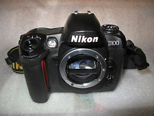 Nikon D D100 6.1MP Digital SLR Camera, Nikon mains charger and battery. Exc.