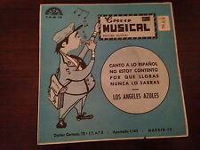 "LOS ANGELES AZULES - CANTO A LO ESPAÑOL 7"" SINGLE EP BEAT PROM0CIONAL"