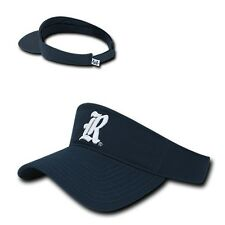 Navy Blue Rice University Owls NCAA Cotton Polo Sun Golf Visor Cap Hat
