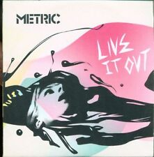 Metric - Live It Out Full Promotional Album Cardsleeve Cd-R Cd Ottimo