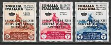 Italian Somalia stamps 1934 RARE Airmailset NOT ISSUED  Only 50sets issued!
